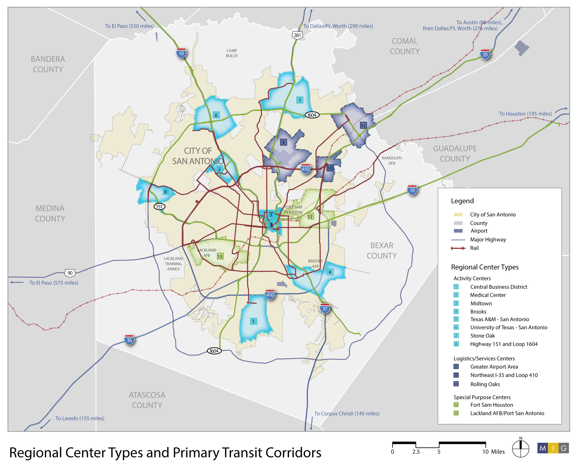 Map Of Texas San Antonio.Regional Centers Page Tag Activity Centers Logistics Centers
